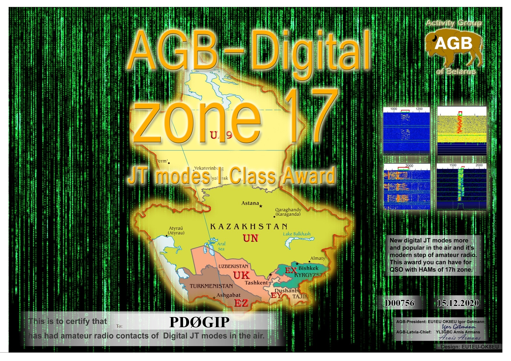 PD0GIP ZONE17 BASIC I AGB