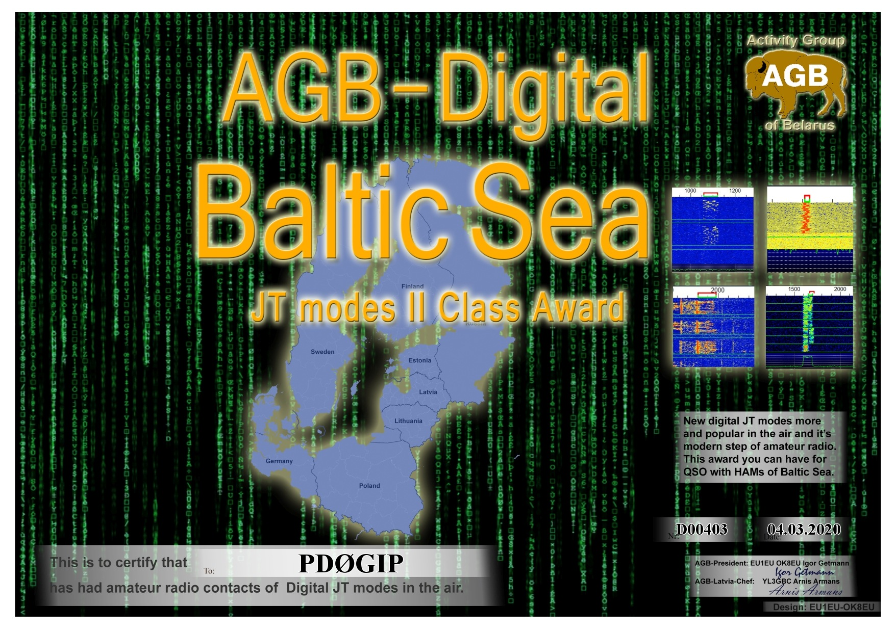 PD0GIP BALTICSEA BASIC II AGB