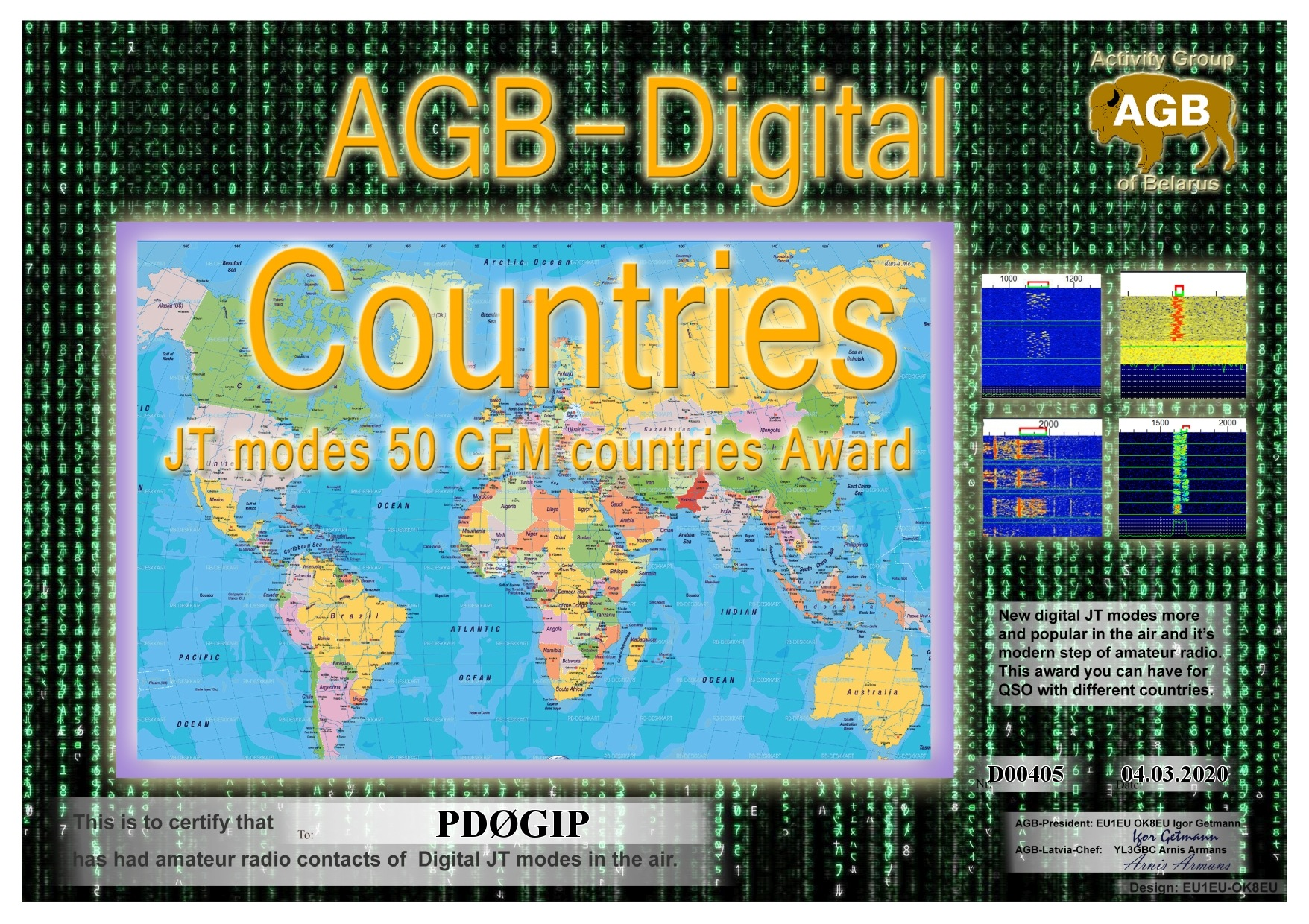 PD0GIP COUNTRIES BASIC 50 AGB