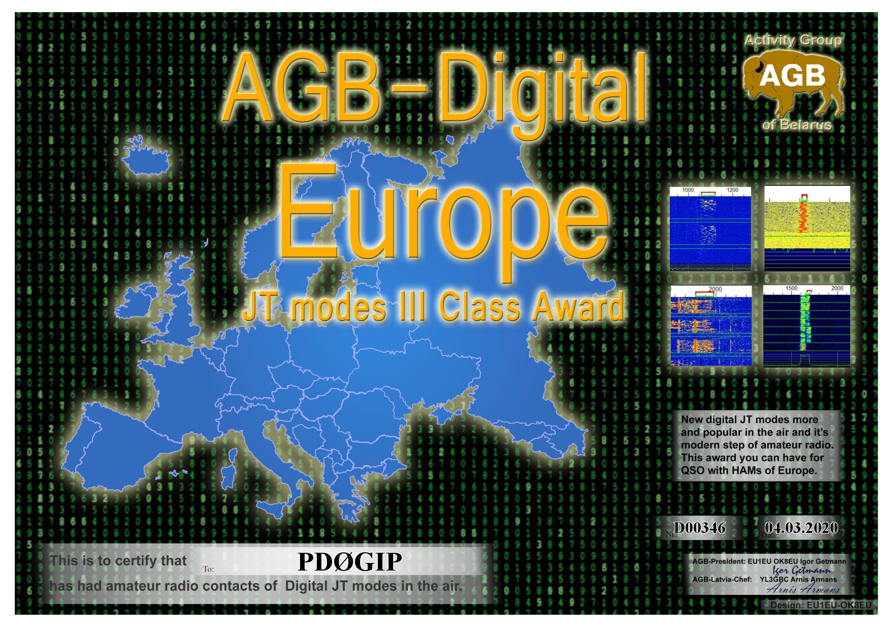 PD0GIP EUROPE BASIC III AGB