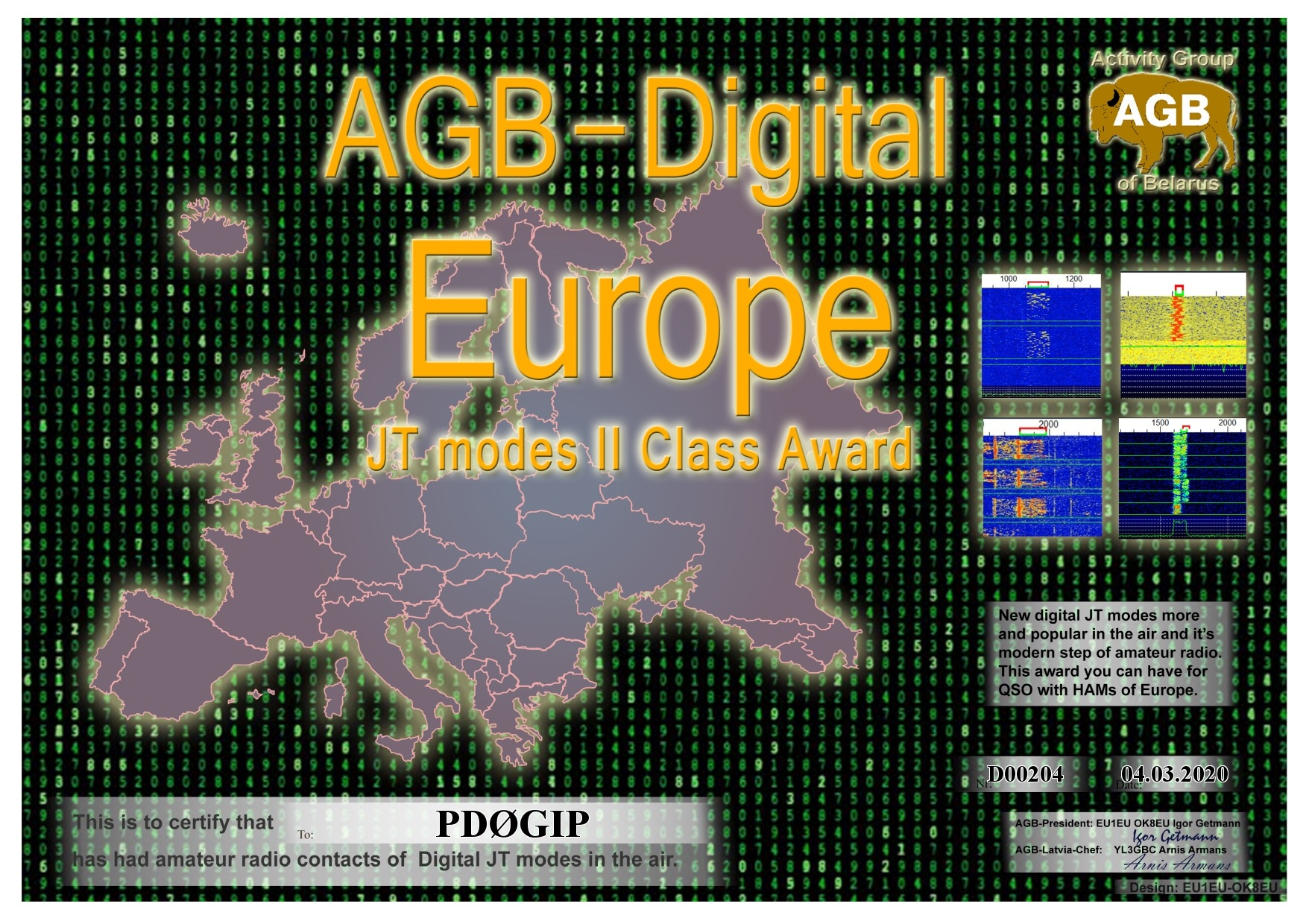 PD0GIP EUROPE BASIC II AGB