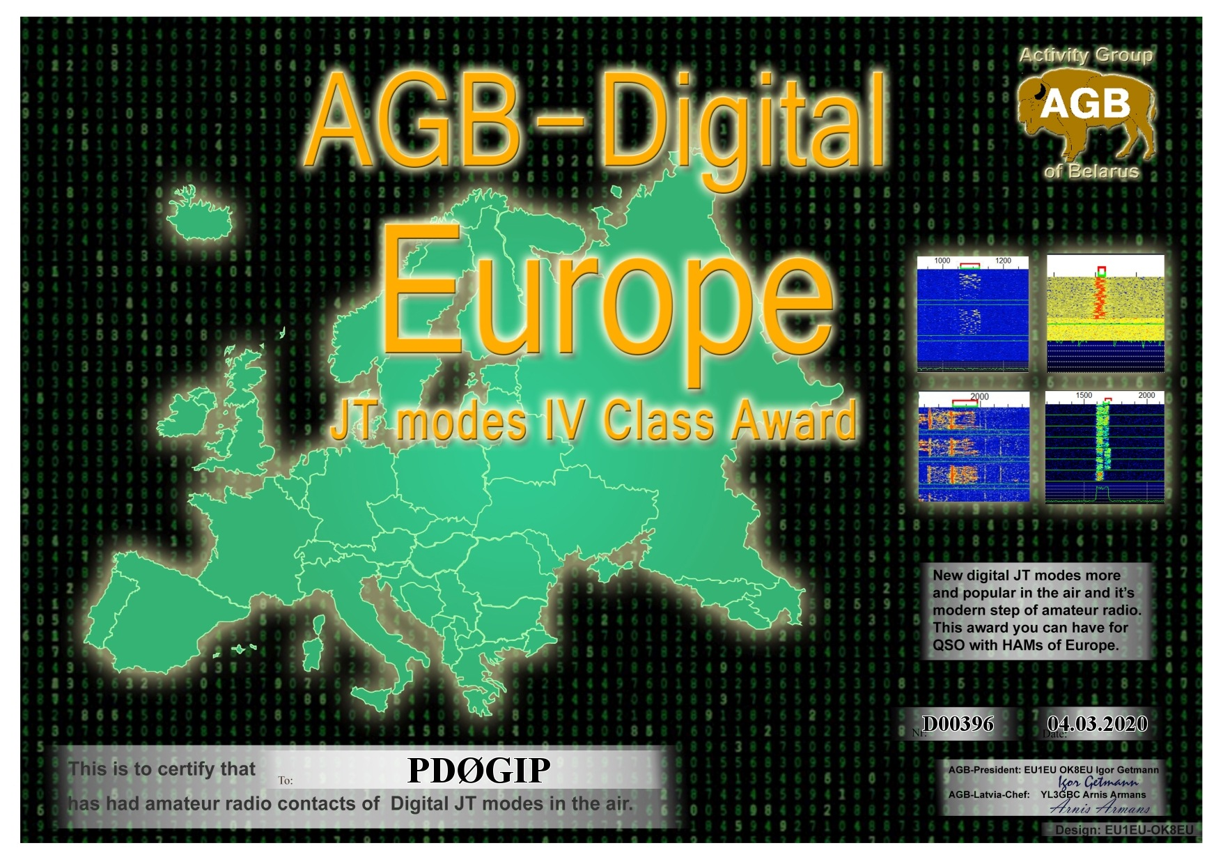 PD0GIP EUROPE BASIC IV AGB