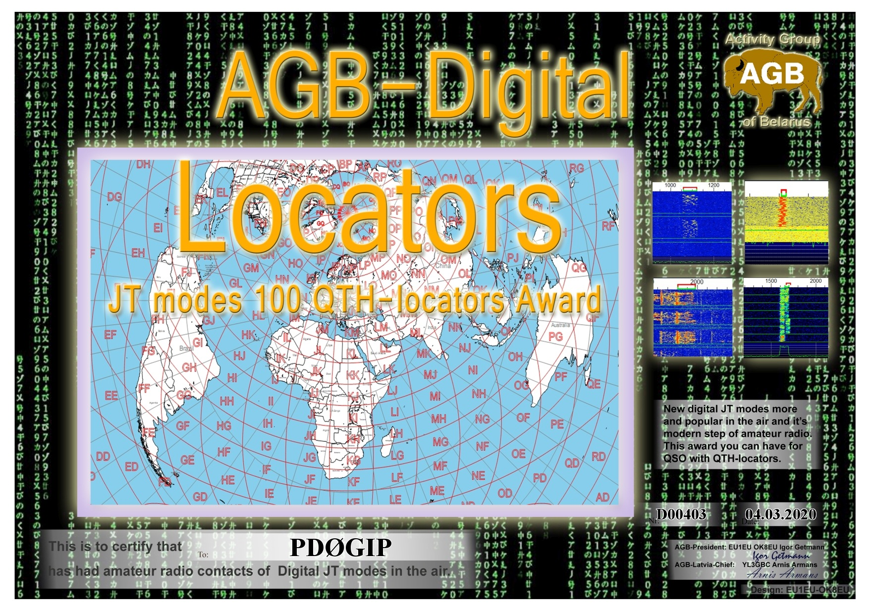 PD0GIP LOCATORS BASIC 100 AGB