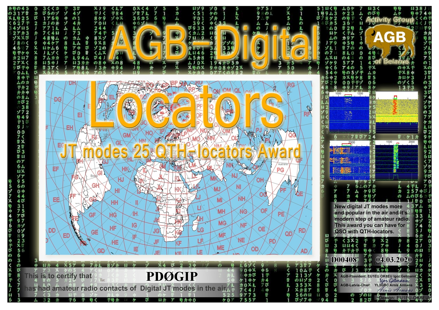 PD0GIP LOCATORS BASIC 25 AGB