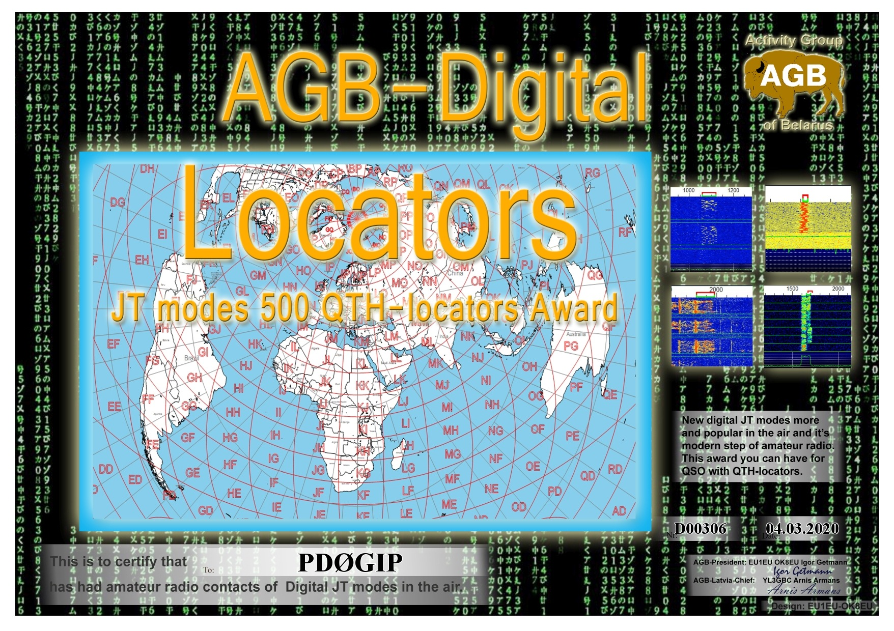 PD0GIP LOCATORS BASIC 500 AGB