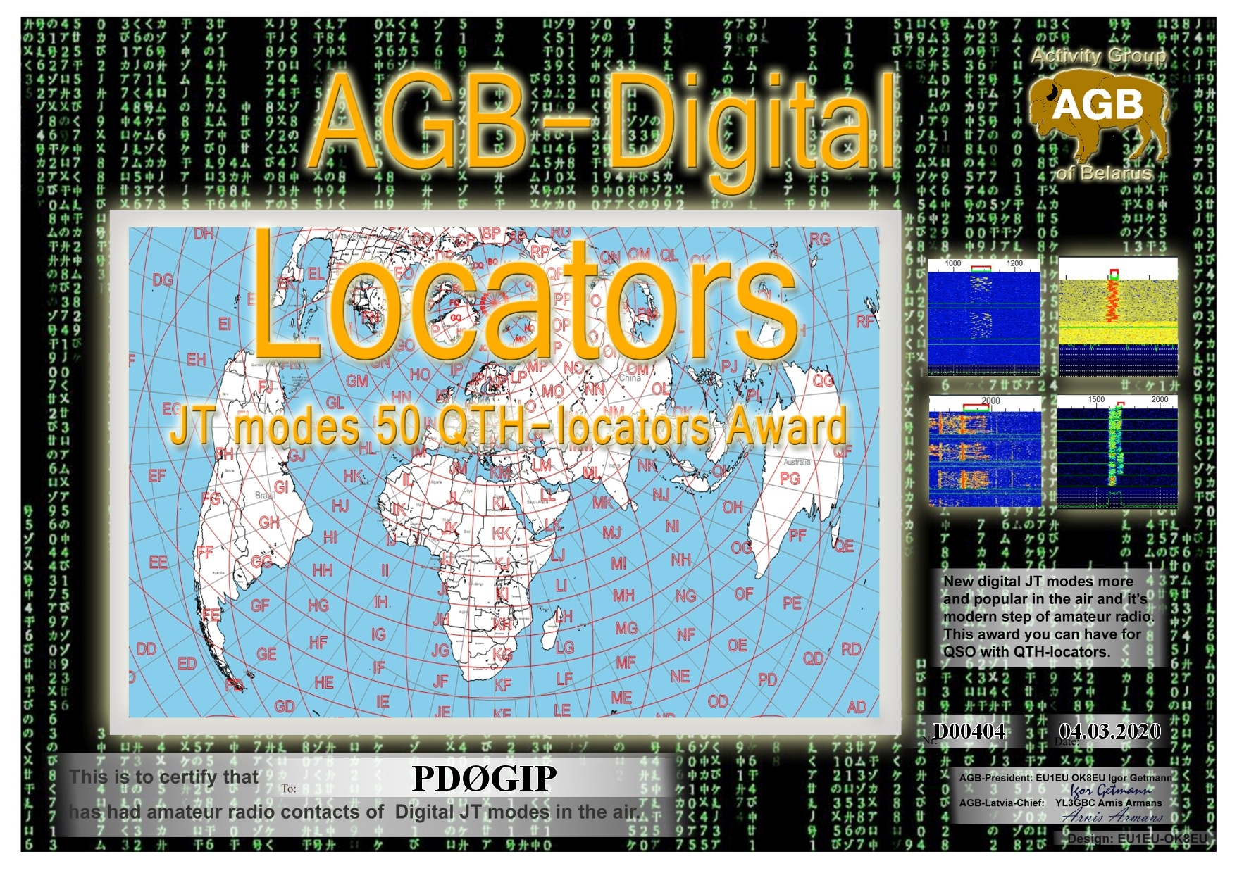 PD0GIP LOCATORS BASIC 50 AGB