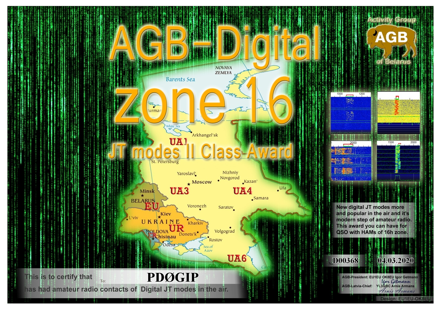 PD0GIP ZONE16 BASIC II AGB